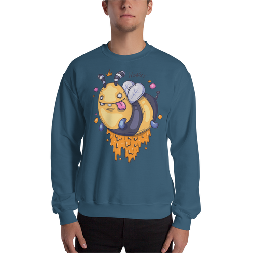Honey Bee Men's Sweatshirt