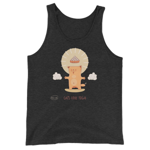 Cats Love Yoga Men's Tank Tops