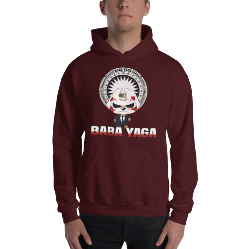 Dog Wick Baba Yaga Men's Hoodies