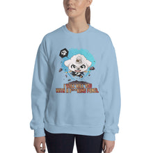 Load image into Gallery viewer, Kill You With A Pencil Women's Sweatshirt