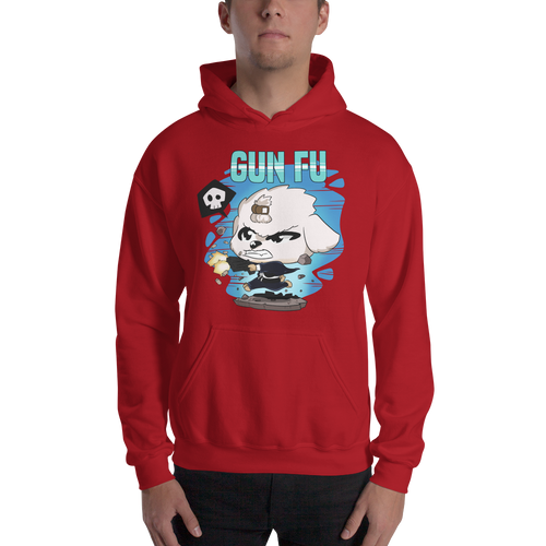 Dog Wick Gun Fu Men's Hoodies