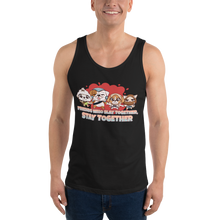Load image into Gallery viewer, Friends Who Slay Together Stay Together Men's Tank Tops