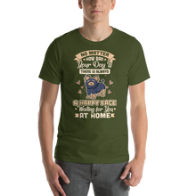 Load image into Gallery viewer, A Happy Face Waiting For You At Home Men's Tee's