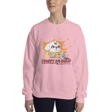 Load image into Gallery viewer, I Don't Do Decaf Women's Sweatshirt