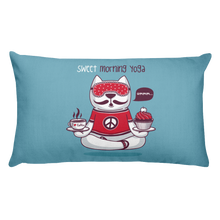 Load image into Gallery viewer, Sweet Morning Yoga Premium Pillow