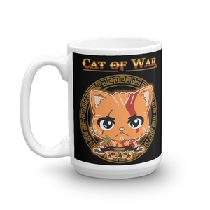 Cat Of War Mug