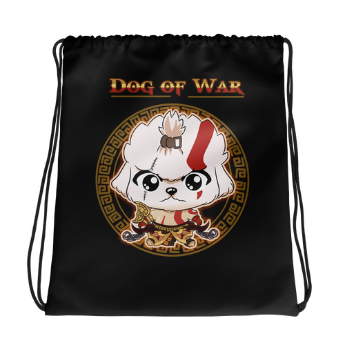 Dog Of War Drawstring Bag