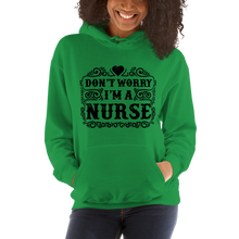 Load image into Gallery viewer, Don't Worry I'm A Nurse Women's Hoodies