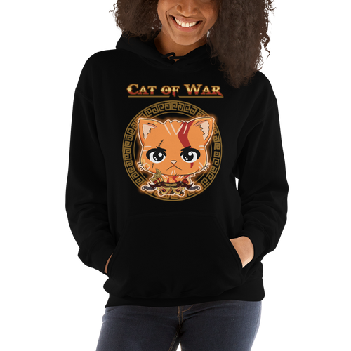 Cat Of War Women's Hoodies