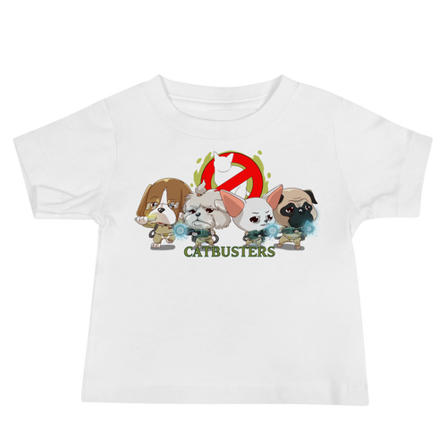 CATBUSTERS Baby Tee's