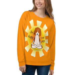 Be Happy With Yoga Sweatshirt