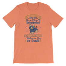Load image into Gallery viewer, A Happy Face Waiting For You At Home Women's Tee's
