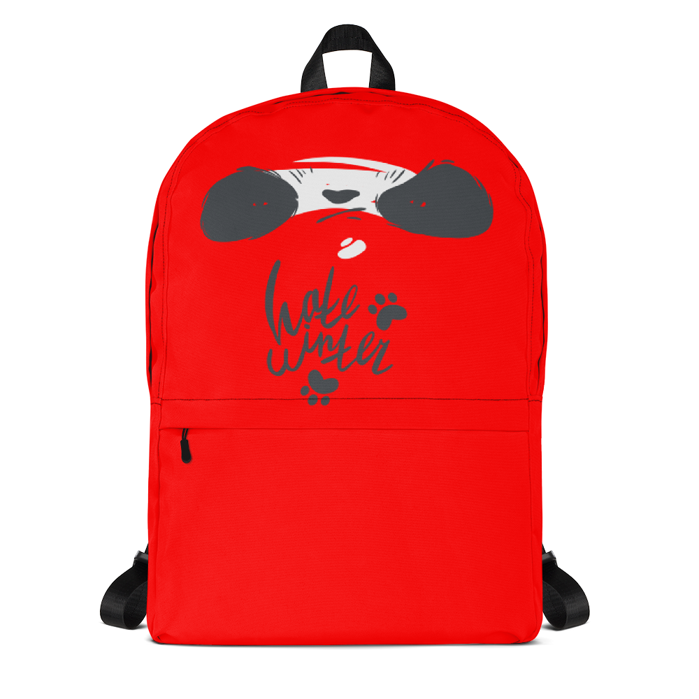 Hat Winter Smirk Panda Backpack