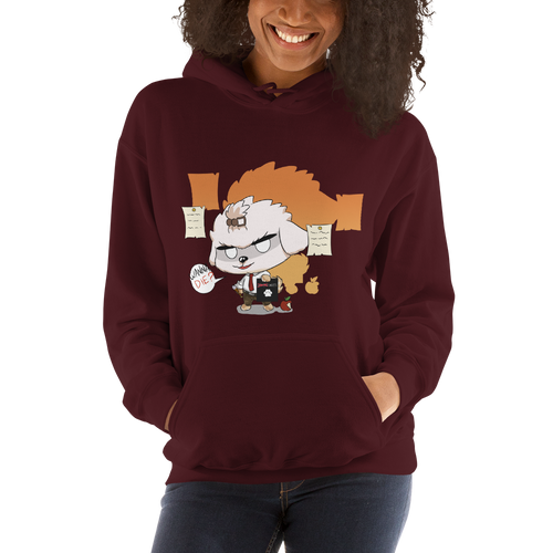 Dog Note Women's Hoodies