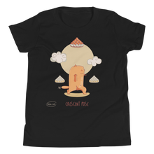 Load image into Gallery viewer, Cresent Pose Yoga Youth Tee's