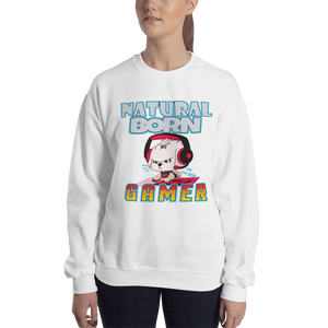 Natural Born Gamer Women's Sweatshirt