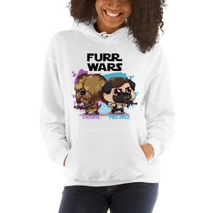 Chewie and Pug Zolo Women's Hoodies