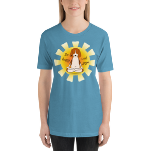 Be Happy With Yoga Tee's