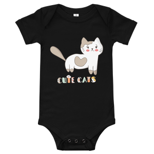 Cute Cats Baby Bodysuit