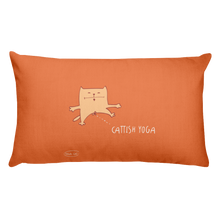 Load image into Gallery viewer, Cattish Yoga Premium Pillow