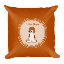 Load image into Gallery viewer, I Love Yoga Premium Pillow