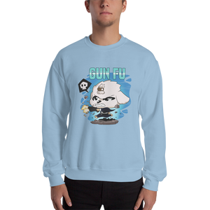 Dog Wick Gun Fu Men's Sweatshirt