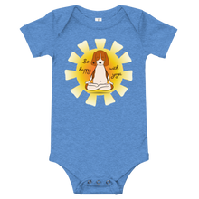 Load image into Gallery viewer, Be Happy With Yoga Baby Bodysuit