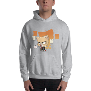 Cat Note Men's Hoodies