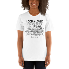 Load image into Gallery viewer, John 3:16 Women's Tee's