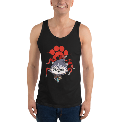 Canine Assassin Men's Tank Tops