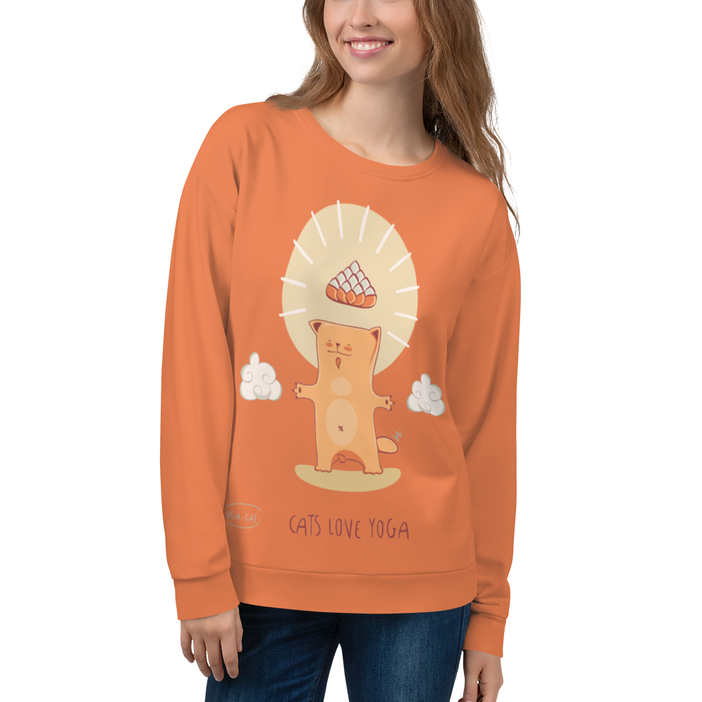 Cats Love Yoga Sweatshirt