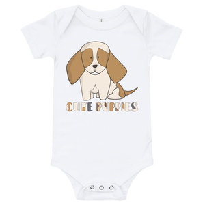 Cute Puppies Baby Bodysuit