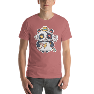 Eye Patch Panda Men's Tee's