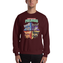 Load image into Gallery viewer, Teenage Mutant Ninja Felines Men's Sweatshirt
