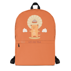 Cats Love Yoga Backpack