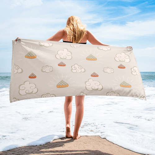 Yoga Cloud Beach Towel