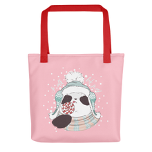 Load image into Gallery viewer, So Cold But Sweet Panda Tote bag
