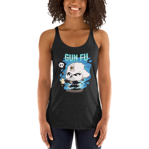 Dog Wick Gun Fu Women's Tank Tops