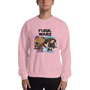 Chewie And Pug Zolo Men's Sweatshirt
