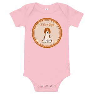I Love Yoga Baby Bodysuit