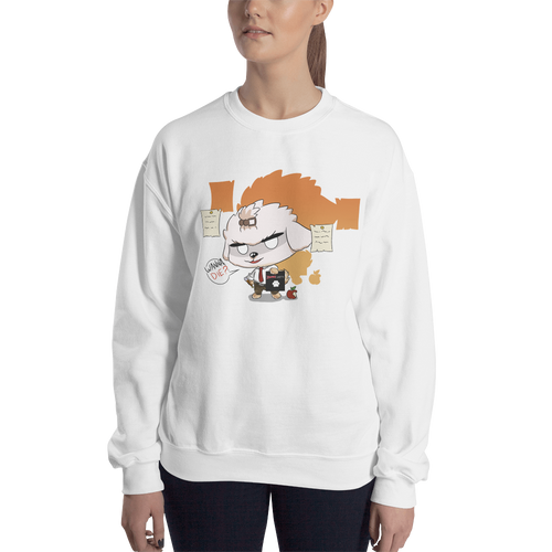 Dog Note Women's Sweatshirt