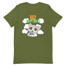 Load image into Gallery viewer, Cats Are My Kryptonite Women's Tee's