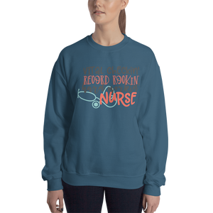 Hard Working Nurse Women's Sweatshirt