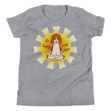 Load image into Gallery viewer, Be Happy With Yoga Youth Tee's