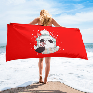 So Cold But Sweet Beach Towel