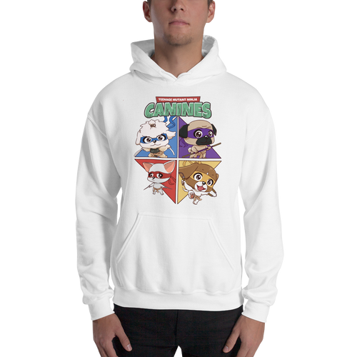 Teenage Mutant Ninja Canines Men's Hoodies