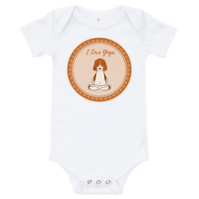 Load image into Gallery viewer, I Love Yoga Baby Bodysuit