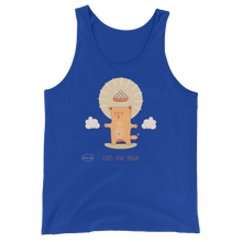 Load image into Gallery viewer, Cats Love Yoga Men's Tank Tops