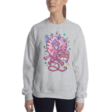 Load image into Gallery viewer, Infinity Cat Women's Sweatshirt