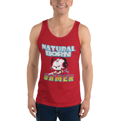 Natural Born Gamer Men's Tank Tops